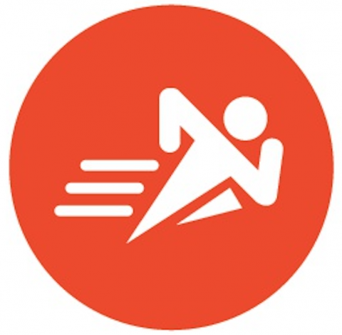 icon for outdoor walking/running track