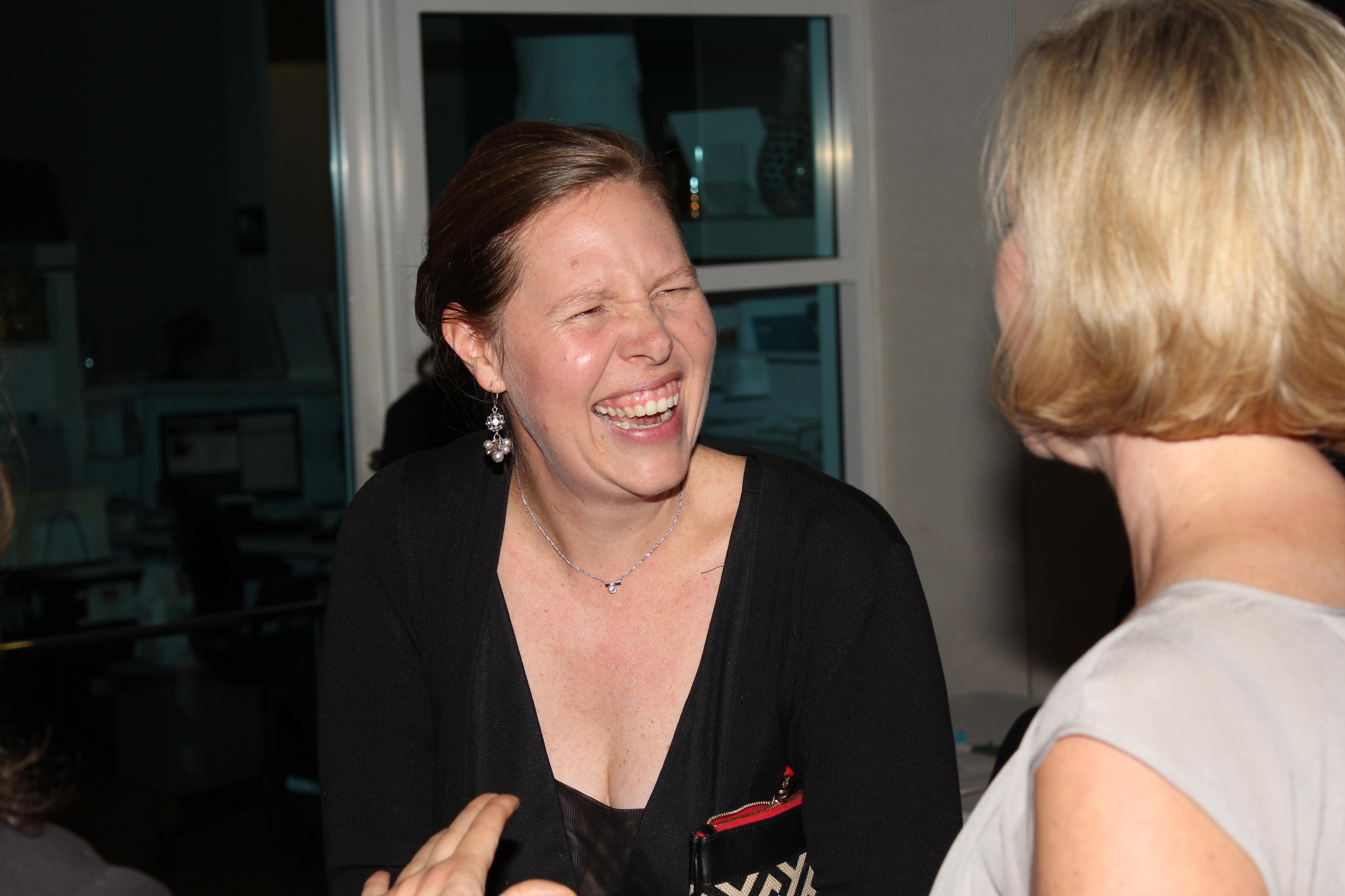 Liz Clasen-KElly and Kirsten Sikkelee