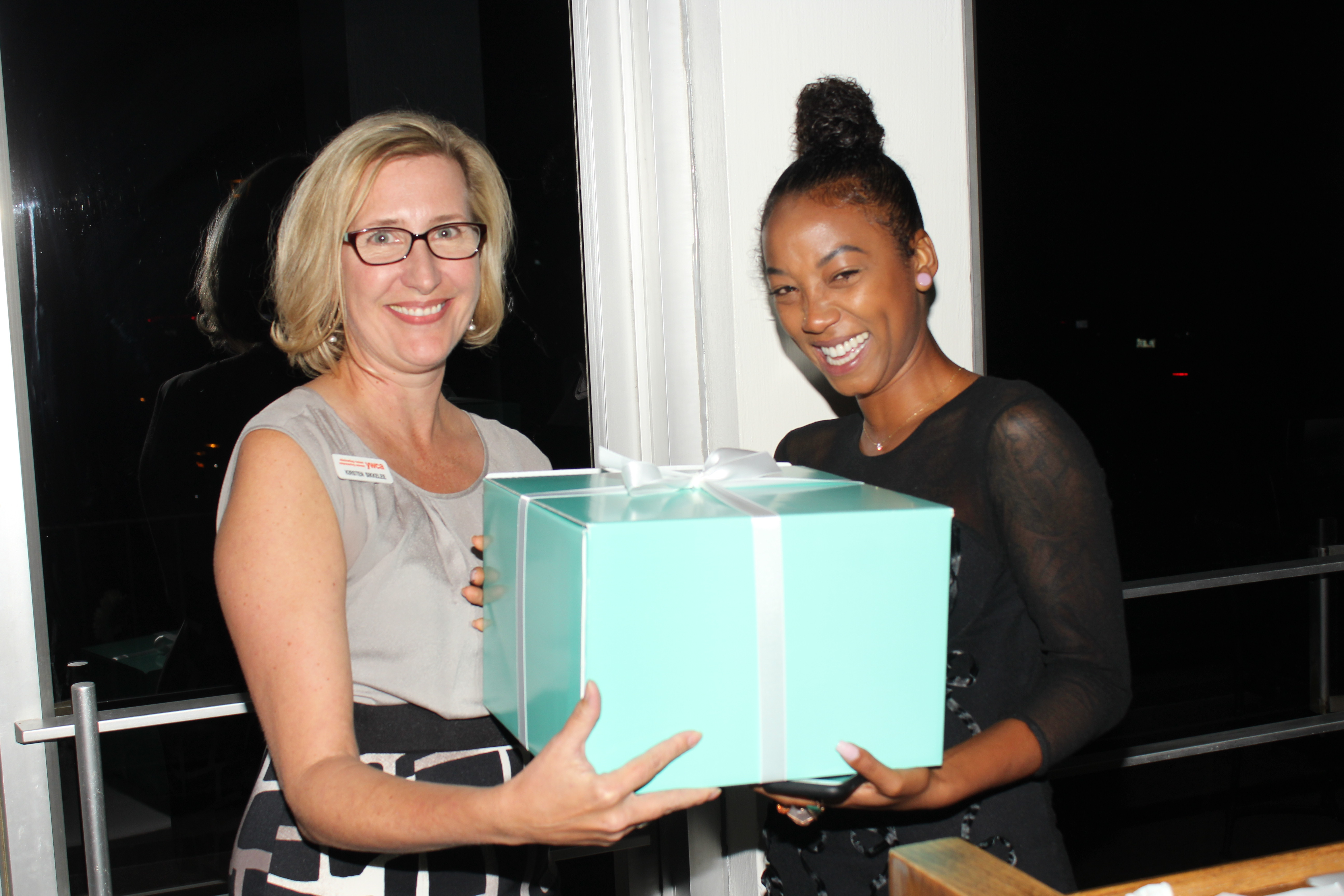 Jessica Moss and Kirsten Sikkelee and Tiffiny & Co award