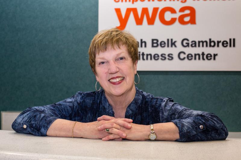 Carol At The Front Desk