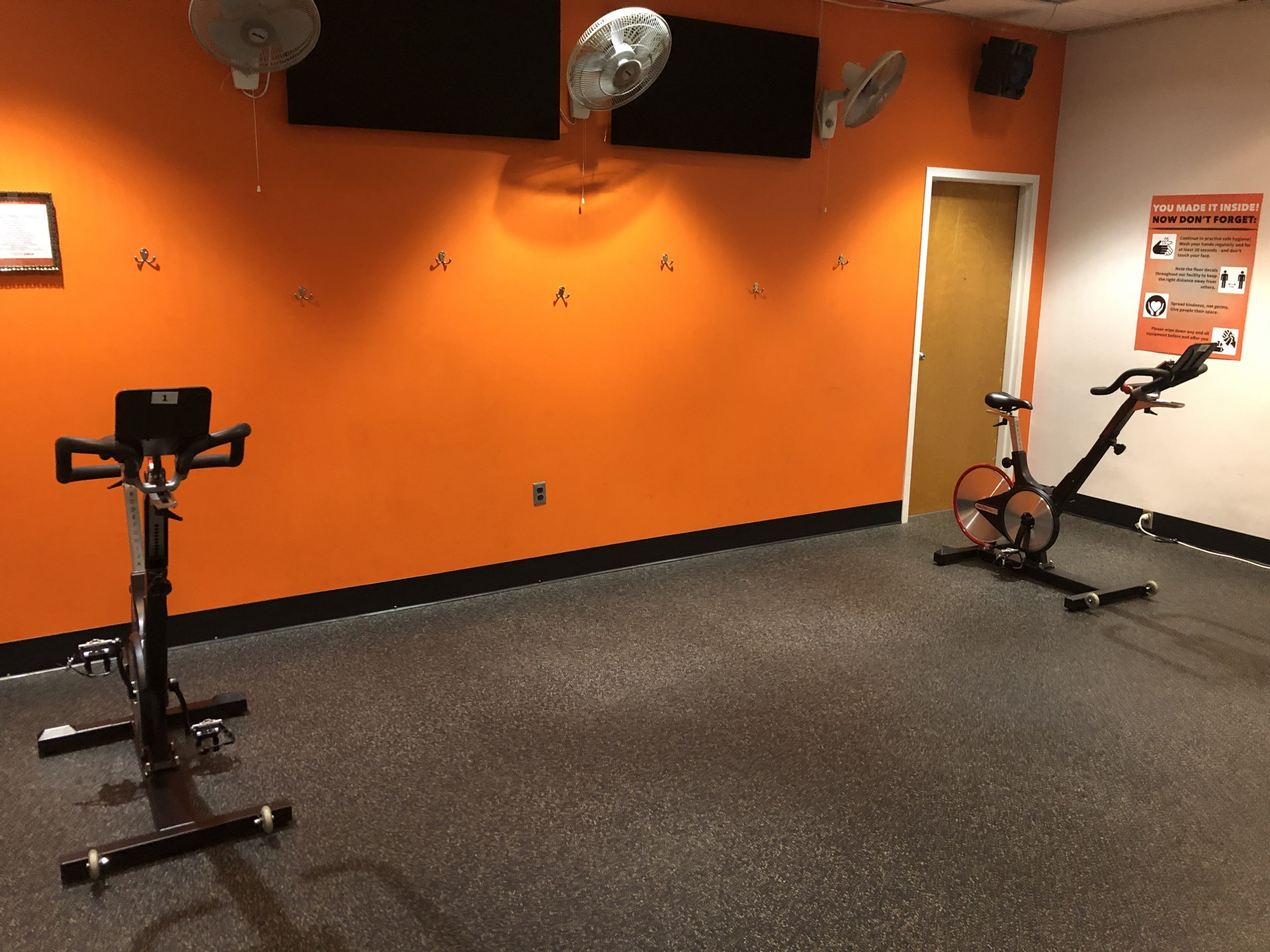 cycle class, COVID19, social distancing, fitness center, YWCA, gym, co-ed gym, workout