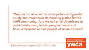 YWCA USA's Statement on Georgia Shooting