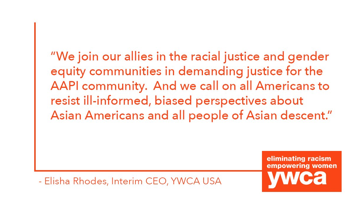 YWCA USA's Statement on Georgia Shooting